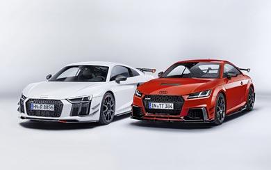 2017 Audi TT RS Performance Parts wallpaper thumbnail.