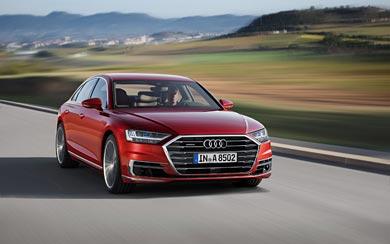 2018 Audi A8 wallpaper thumbnail.