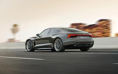 2018 Audi E-Tron GT Concept wallpaper thumbnail.