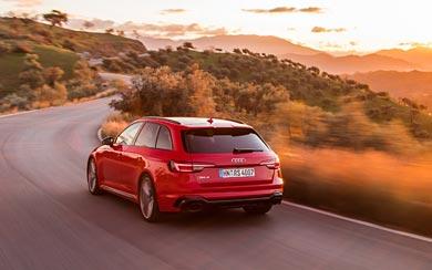 2018 Audi RS4 Avant wallpaper thumbnail.
