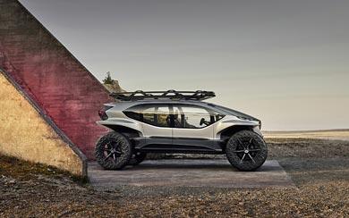 2019 Audi AI-TRAIL Quattro Concept wallpaper thumbnail.