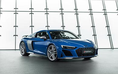 2019 Audi R8 wallpaper thumbnail.