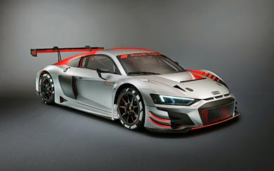 2019 Audi R8 LMS GT3 wallpaper thumbnail.