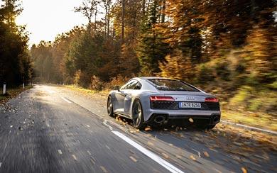 2020 Audi R8 V10 RWD wallpaper thumbnail.
