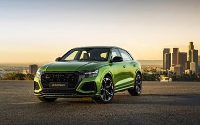 2020 Audi RS Q8 wallpaper thumbnail.