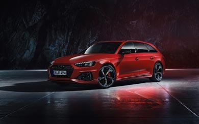 2020 Audi RS4 Avant wallpaper thumbnail.