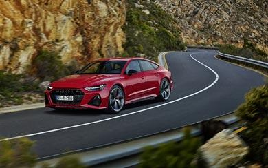 2020 Audi RS7 Sportback wallpaper thumbnail.