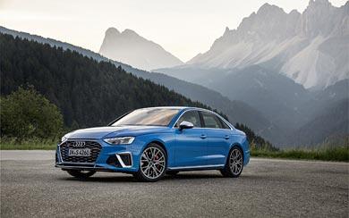 2020 Audi S4 wallpaper thumbnail.