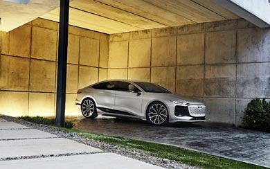 2021 Audi A6 E-Tron Concept wallpaper thumbnail.