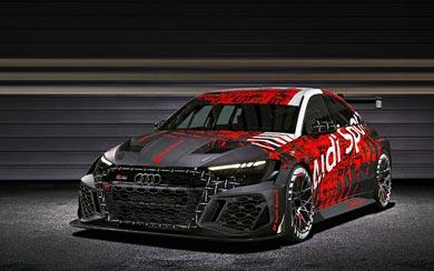 2021 Audi RS3 LMS wallpaper thumbnail.