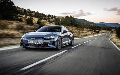 2022 Audi E-Tron GT Quattro wallpaper thumbnail.