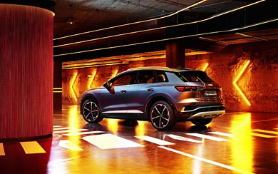 2022 Audi Q4 E-Tron wallpaper thumbnail.