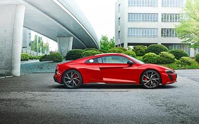 2022 Audi R8 V10 Performance RWD wallpaper thumbnail.