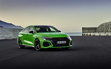 2022 Audi RS3 Sedan wallpaper thumbnail.