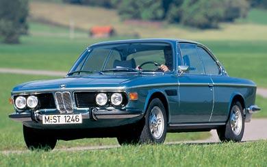 1971 BMW 3.0 CSi E9 wallpaper thumbnail.