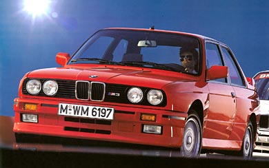 1987 BMW E30 M3 wallpaper thumbnail.