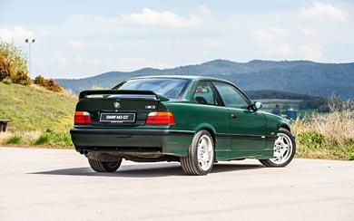 1995 BMW M3 GT wallpaper thumbnail.