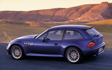 1999 BMW Z3 Coupe wallpaper thumbnail.