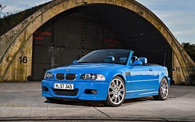 2001 BMW M3 Convertible wallpaper thumbnail.