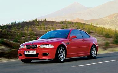 2001 BMW M3 Coupe wallpaper thumbnail.