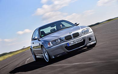 2003 BMW M3 CSL wallpaper thumbnail.