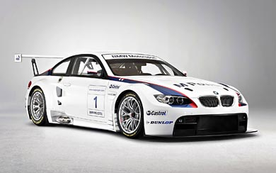 2009 BMW M3 Coupe GT2 wallpaper thumbnail.