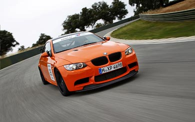 2009 BMW M3 GTS wallpaper thumbnail.