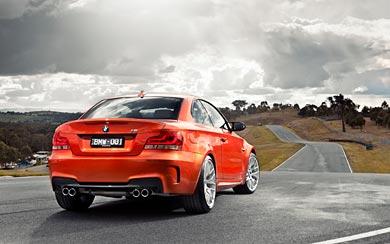 2011 BMW 1-Series M Coupe wallpaper thumbnail.