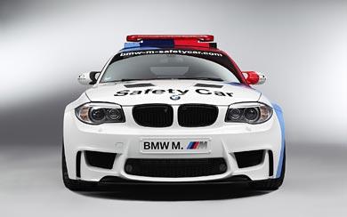 2011 BMW 1-Series M Coupe MotoGP Safety Car wallpaper thumbnail.