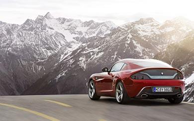 2012 BMW Zagato Coupe Concept wallpaper thumbnail.