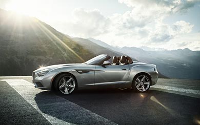 2012 BMW Zagato Roadster Concept wallpaper thumbnail.