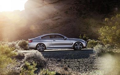 2013 BMW 4-Series Coupe Concept wallpaper thumbnail.