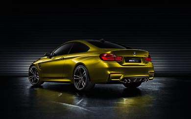 2013 BMW M4 Coupe Concept wallpaper thumbnail.