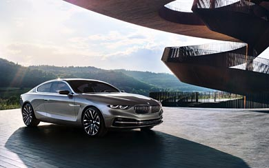 2013 BMW Pininfarina Gran Lusso Coupe wallpaper thumbnail.