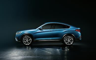 2013 BMW X4 Concept wallpaper thumbnail.