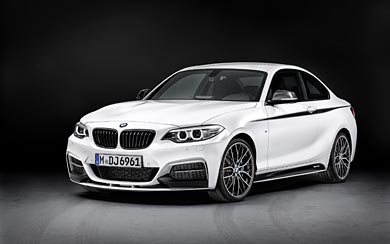 2014 BMW 2-Series Coupe M Performance Parts wallpaper thumbnail.