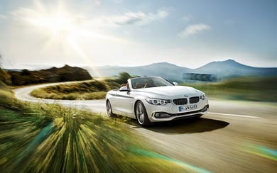 2014 BMW 4-Series Convertible wallpaper thumbnail.