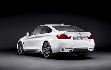 2014 BMW 4-Series Coupe M Performance Parts wallpaper thumbnail.