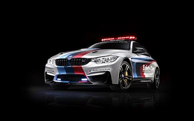 2014 BMW M4 Coupe MotoGP Safety Car wallpaper thumbnail.