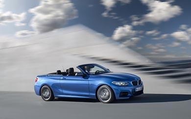 2015 BMW M235i Convertible wallpaper thumbnail.