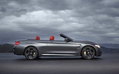 2015 BMW M4 Convertible wallpaper thumbnail.
