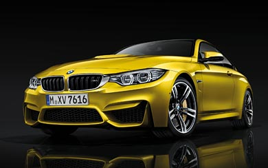 2015 BMW M4 Coupe wallpaper thumbnail.