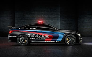 2015 BMW M4 Coupe MotoGP Safety Car wallpaper thumbnail.