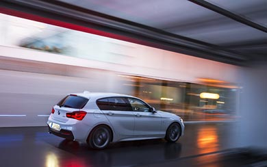 2016 BMW 1-Series M Sport wallpaper thumbnail.
