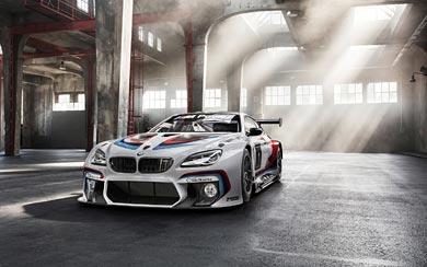 2016 BMW M6 GT3 wallpaper thumbnail.