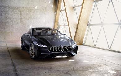 2017 BMW 8-Series Concept wallpaper thumbnail.