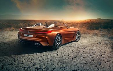 2017 BMW Z4 Concept wallpaper thumbnail.