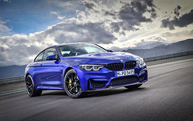 2018 BMW M4 CS wallpaper thumbnail.