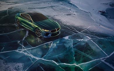 2018 BMW M8 Gran Coupe Concept wallpaper thumbnail.