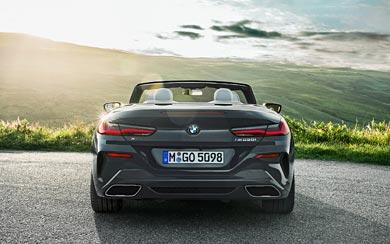 2019 BMW 8-Series Convertible wallpaper thumbnail.